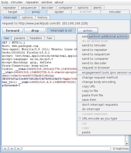آموزش نرم افزار Burp Suite