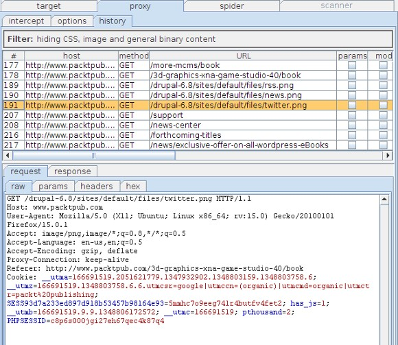 نرم افزار Burp Suite