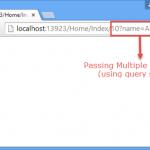 آموزش ارسال متغیر ها بین صفحات با استفاده از QueryString در asp.net