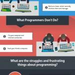 برنامه نویسی چیست و برنامه نویسان چه کاری انجام می دهند ؟ (اینفوگرافیک)