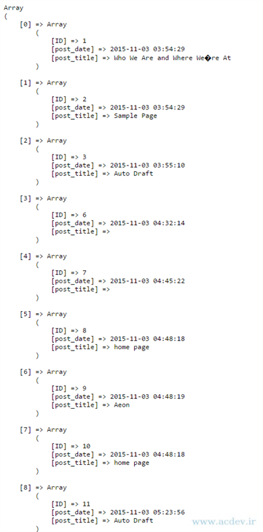 آموزش ارتباط با پایگاه داده mysql در php