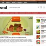دانلود قالب وبلاگ / مجله Zend- قالب واکنشگرای HTML