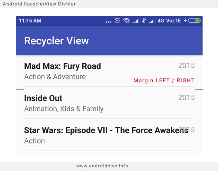آموزش کامل recyclerview