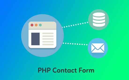 ایجاد یک فرم با php