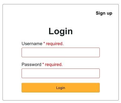 فرم ورود به سایت با php